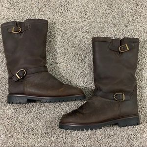 Vintage LL Bean Canada North Leather Boots